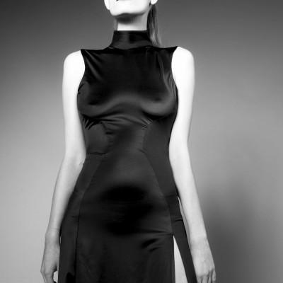 Neo Collar Dress
